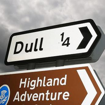 Dull in Scotland hopes to forge an international link with Boring in the United States