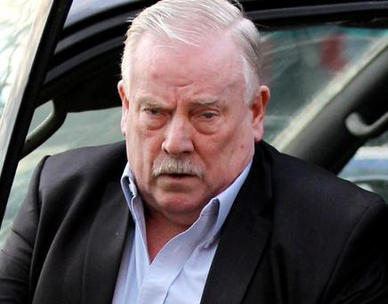 McFEELY: (TOM): DEVELOPER re THERESA McGUINNESS: bankruptcy proceedings against developer Tom McFeely , High Court, Dublin, ( 16/1/12))***see Hi Ct story.***NOT IN COURT YESTEAY (MON)Pic. shows FILE IMAGE of Developer Tom McFeely arriving at court for the last hearinghearing. (Pic: CourtPix***see also McGuinness re McFEELY CX