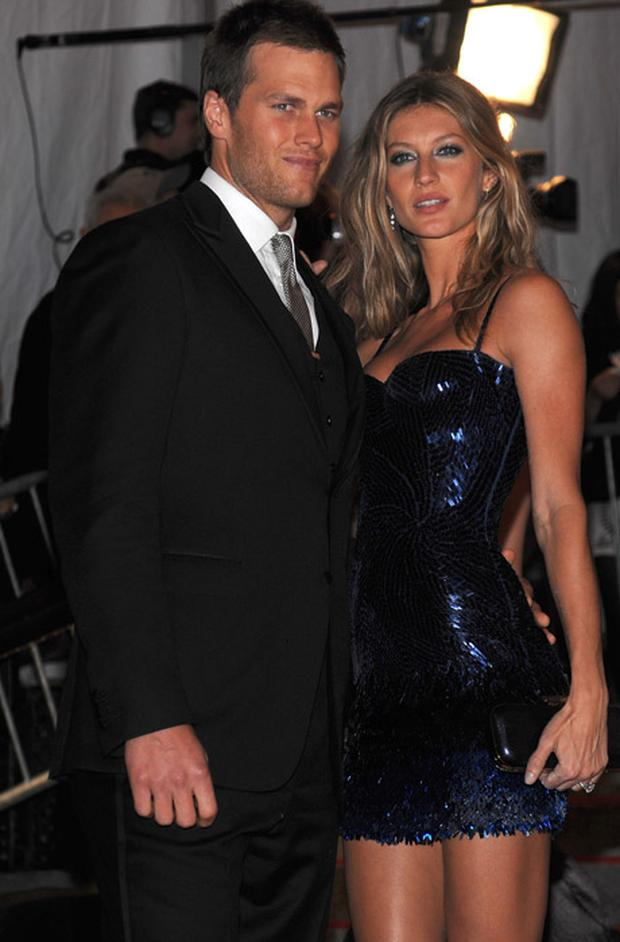 Gisele with her husband Tom Brady at the Costume Institute Gala in New York. Photo: Getty Images