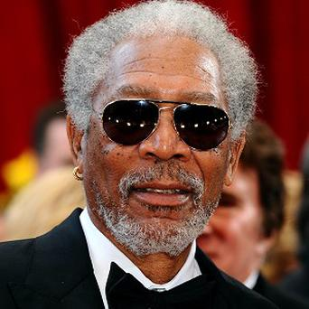 Morgan Freeman has paid tribute to Sidney Poitier