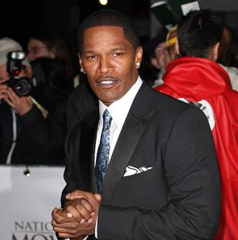 Jamie Foxx could be heading for The White House in a new action thriller