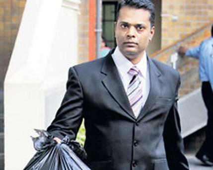 Sergeant Mohammad Reaz Dhonye, who gave evidence at the Mauritian Supreme Court yesterday