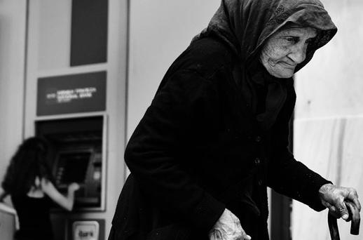 IT IS THE PEOPLE WHO PAY: In Greece, the crisis continues to bring hardship as the people prepare to go to the polls again on June 17 in an effort to elect a new government