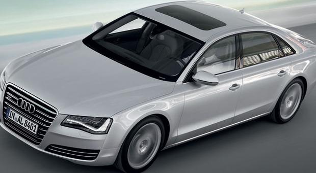 BELLS AND WHISTLES: The Audi A8 LWB is a joy to sit in and to drive, from its impressive engine which goes from 0 to 100kmph in 6.1 seconds, to its leather and walnut interior