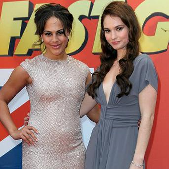 Lenora Crichlow and Lily James had to train hard for Fast Girls