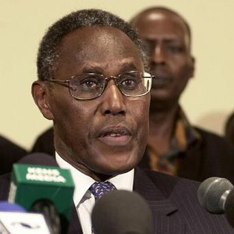 Former Kenyan vice president George Saitoti was killed in a helicopter crash (AP)