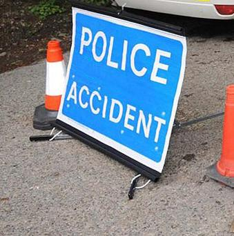 A pedestrian has died in a road accident in Co Down