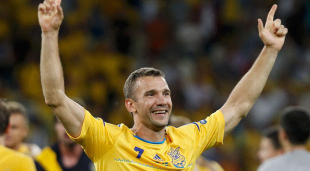 Two high-quality second-half goals from Andriy Shevchenko gave hosts Ukraine a triumphant start to Euro 2012 in Kiev