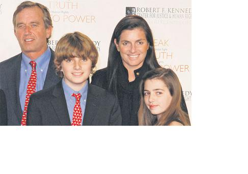 Robert and Mary Kennedy with their children in New York, in this picture taken in November, 2008