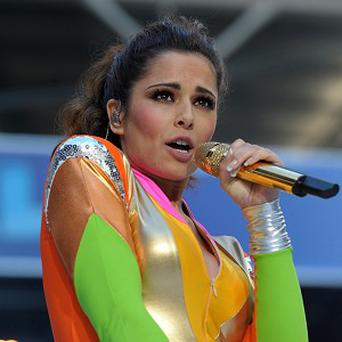 Cheryl Cole made a surprise appearance at Capital FM's Summertime Ball