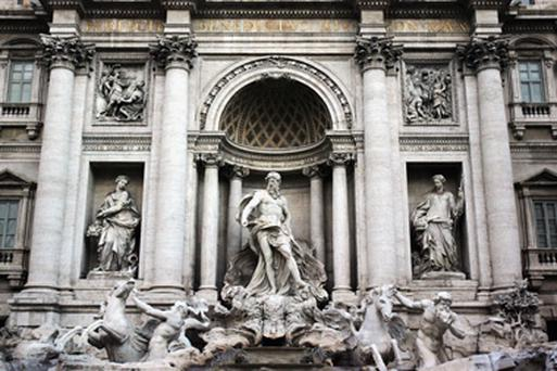 The Trevi Fountain. Photo: Getty Images