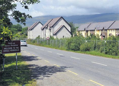 The Annagh Banks ghost estate is up for auction at Castlemaine, Co Kerry