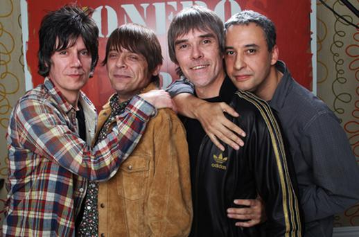 The Stone Roses are due to play Phoenix Park on July 5. Photo: Getty Images