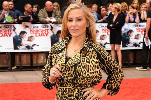 Anastacia was a big hit at X Factor auditions in Glasgow. Photo: PA