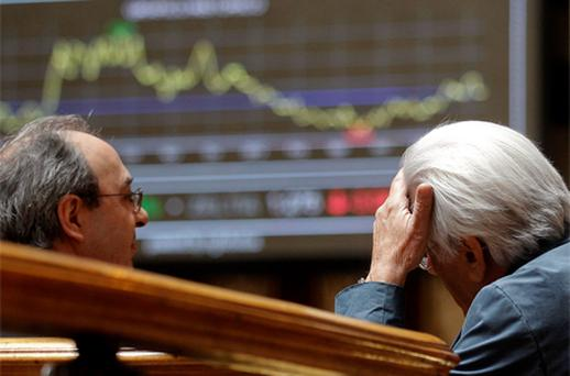 Asset markets have fluctuated all week as optimism and disappointment have alternately gripped financial markets. Photo: Reuters