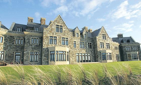 Doonbeg luxury resort in Co Clare included a golf course designed by legendary golfer Greg Norman