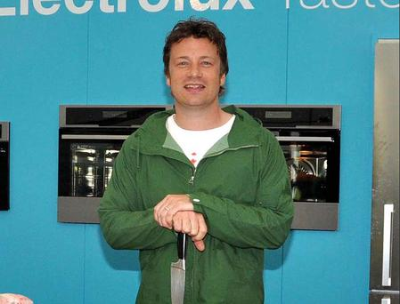 Jamie Oliver at a Taste of Dublin launch.