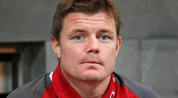 Ireland captain Brian O'Driscoll during a press conference ahead of their Steinlager Series 2012, 2nd test, game against New Zealand on Saturday. Photo: Sportsfile