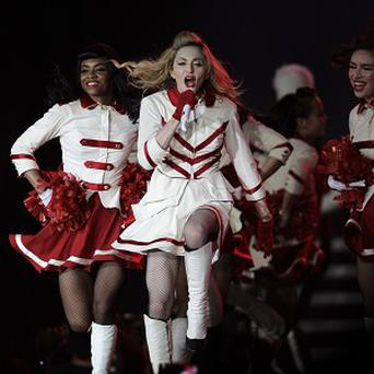 Madonna is currently on the road with her MDNA tour