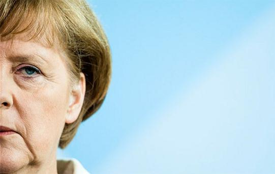 The German Chancellor, Angela Merkel, does not want to be the leader who presides over the fracturing of the euro