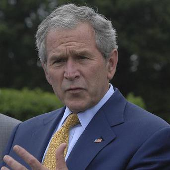 A scene in the TV series Game of Thrones appeared to depict former US president George W Bush as a severed head on a spike