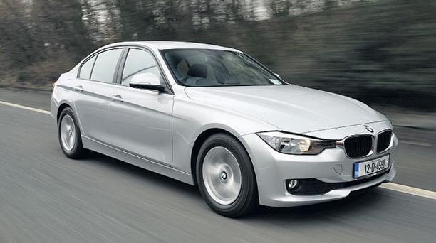 ECONOMICAL: The BMW 316 ES is a superbly constructed saloon with a diesel engine