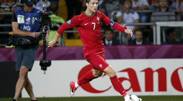 Cristiano Ronaldo of Portugal during the UEFA EURO 2012 match between Portugal and Netherlands. Photo: Getty Images