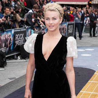 Julianne Hough plays a waitress in Rock Of Ages