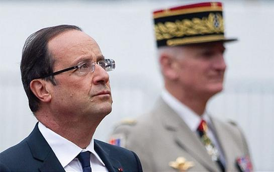 François Hollande, who has made no public mention of the spat between the two women, yesterday reportedly said the defeat was his 'biggest disappointment' of the elections