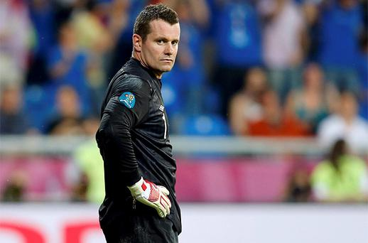 <p> <b>SHAY GIVEN - 5/10</b> </p> <p> Tournament has been a traumatic experience for the netminder. Hard to believe that Ireland's finest 'keeper has proved to be a weak link, yet that's the depressing reality. Caught out badly on the first occasion he was called into action. This would be a terrible way to end his Irish career. </p>