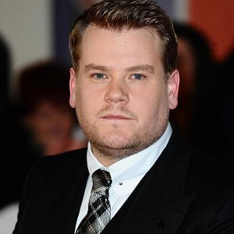 James Corden has been lined up for a film role alongside Keira Knightley