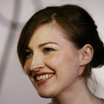 Kelly Macdonald hit Los Angeles for the Brave premiere