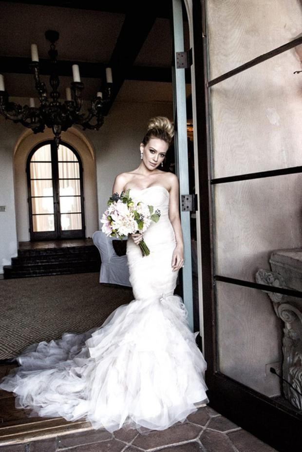 Wedding dress designer Vera Wang says fishtail frocks are ...