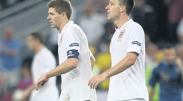 Steven Gerrard and John Terry have been the two key figures as England topped Group D