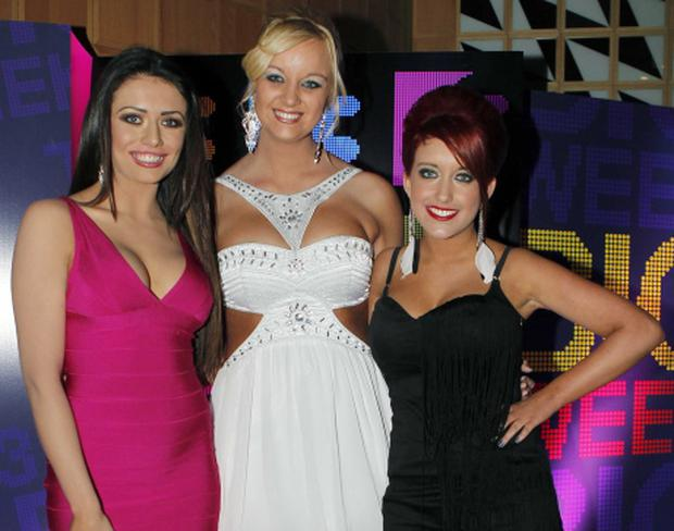 Kelly (left) with her former Tallafornia cast-mates (Photo: Kyran O'Brien)