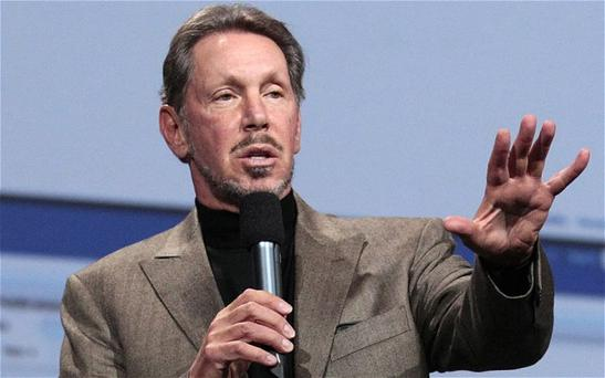 Oracle CEO Larry Ellison. Photo: AP