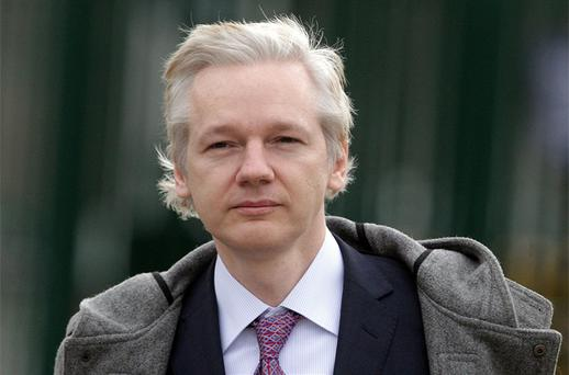 WikiLeaks founder Julian Assange. Photo: PA