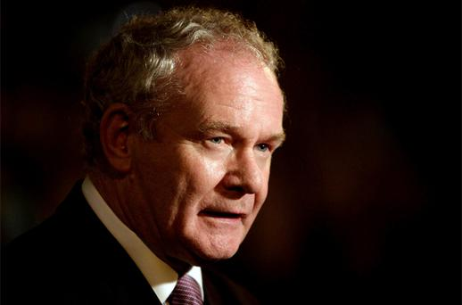 Sinn Fein's Martin McGuinness who has been invited to attend an event with the Queen during her Northern Ireland visit next week. Photo: PA