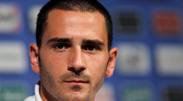 Leonardo Bonucci. Photo: Reuters