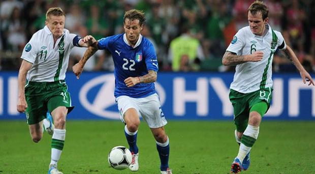 The 26 year old died after Irelands 2-0 defeat to Italy on June 18