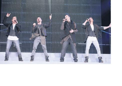 Westlife: foursome play their farewell gigs