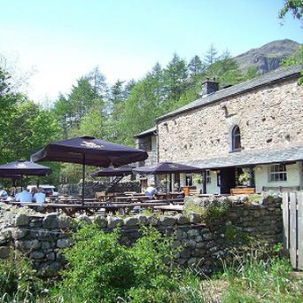 The Sticklebarn pub in Great Langdale, Cumbria, is the only National Trust-run pub in the country (National Trust/PA)