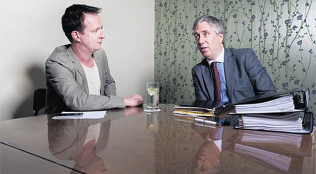 John Delaney with Dion Fanning: 'Anyone who thinks that I would have lost my vision or my drive is misplaced because there's not a moment of my day that I'm not thinking of how we can better Irish football, not a moment of my day.'