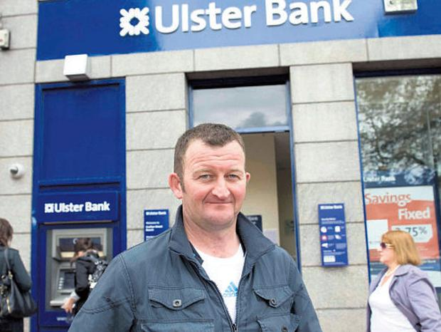Pipe-layer and father-of-four Brendan Greaney has been waiting since Thursday to access his wages