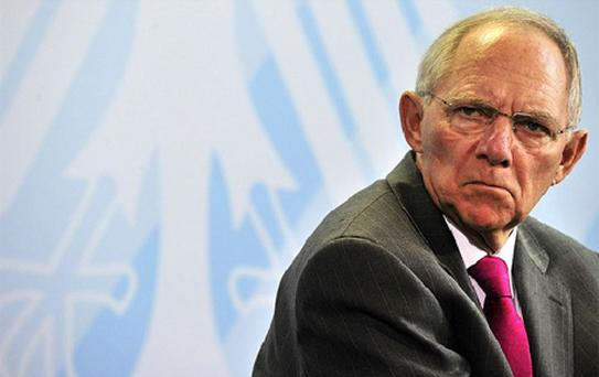 'The most important task facing new prime minister (Antonis) Samaras is to enact the programme agreed upon quickly and without further delay instead of asking how much more others can do for Greece,' said Mr Schaeuble, a close ally of Chancellor Angela Merkel and Europe's most powerful finance minister
