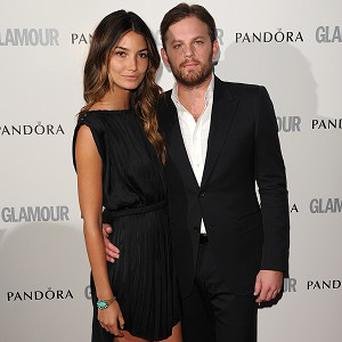 Caleb Followill and wife Lily Aldridge