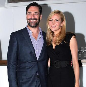 Real life couple Jon Hamm and Jennifer Westfeldt made Friends With Kids together