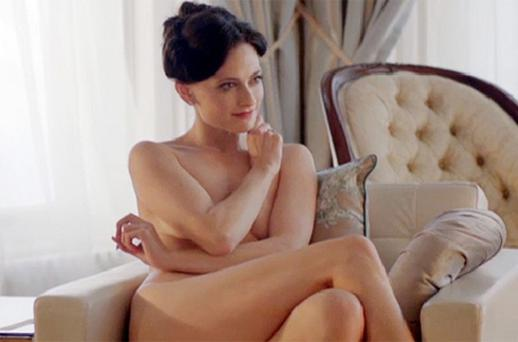Actress Lara Pulver says she has received a flood of offers of parts in swinger films since stripping off in an episode of BBC1's Sherlock. Photo: BBC