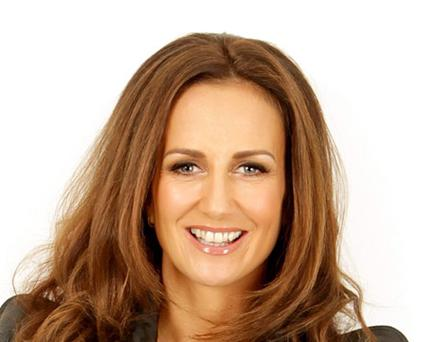 Lorraine Keane pictured for Sunday Independent living fashion. Picture; GERRY MOONEY. 10/3/11
