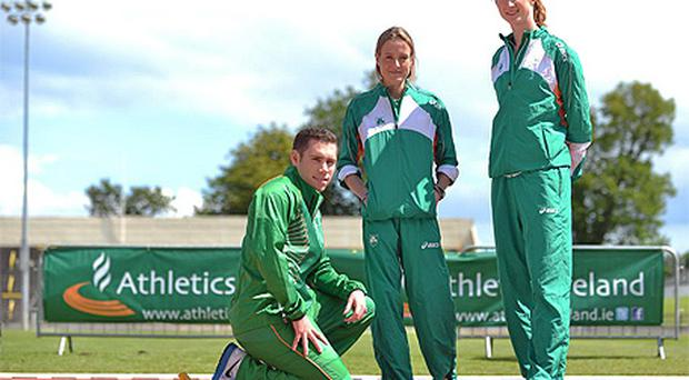 In an Olympic year Jason Smyth, Fionnuala Britton and Joanne Cuddihy will be hoping to get the Irish summer off to a positive start in Helsinki this week
